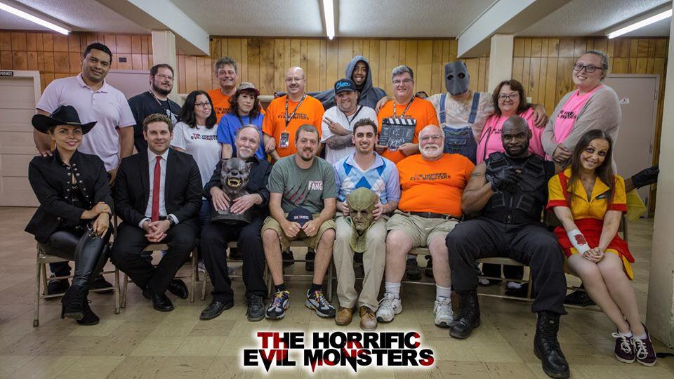 Cast and Crew of The Horrific Evil Monsters